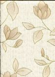 Botanica Wallpaper Amy Gold 32-480 By Graham & Brown